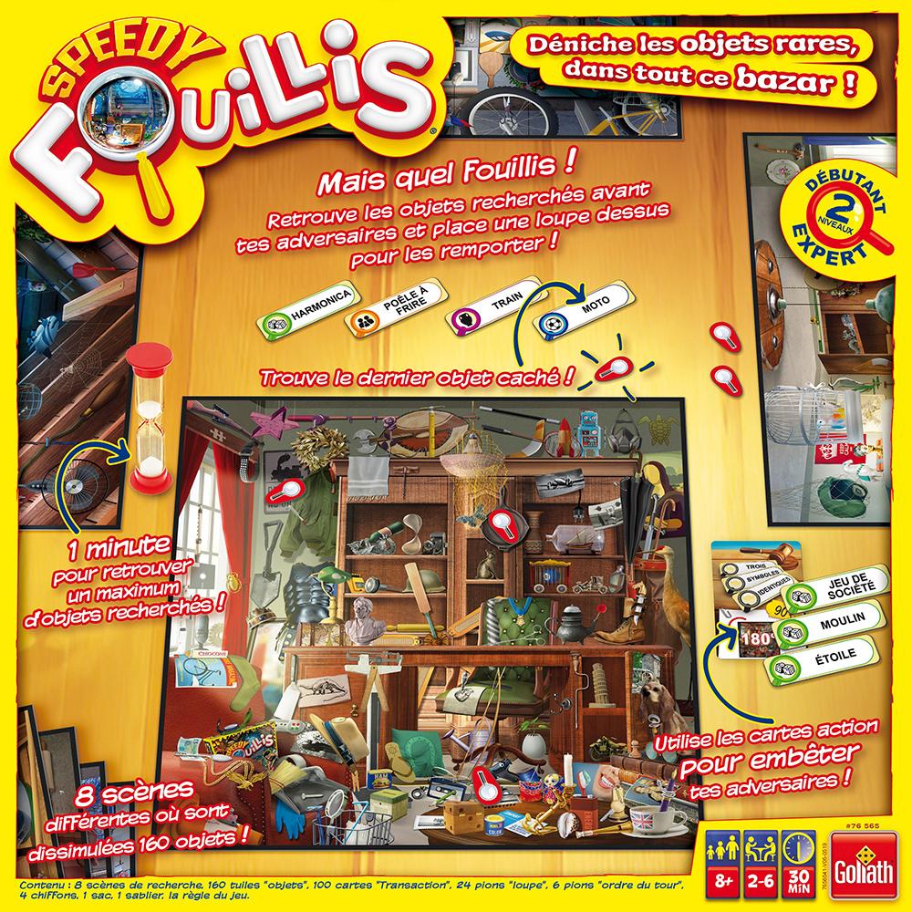 Speedy Fouillis Version française
