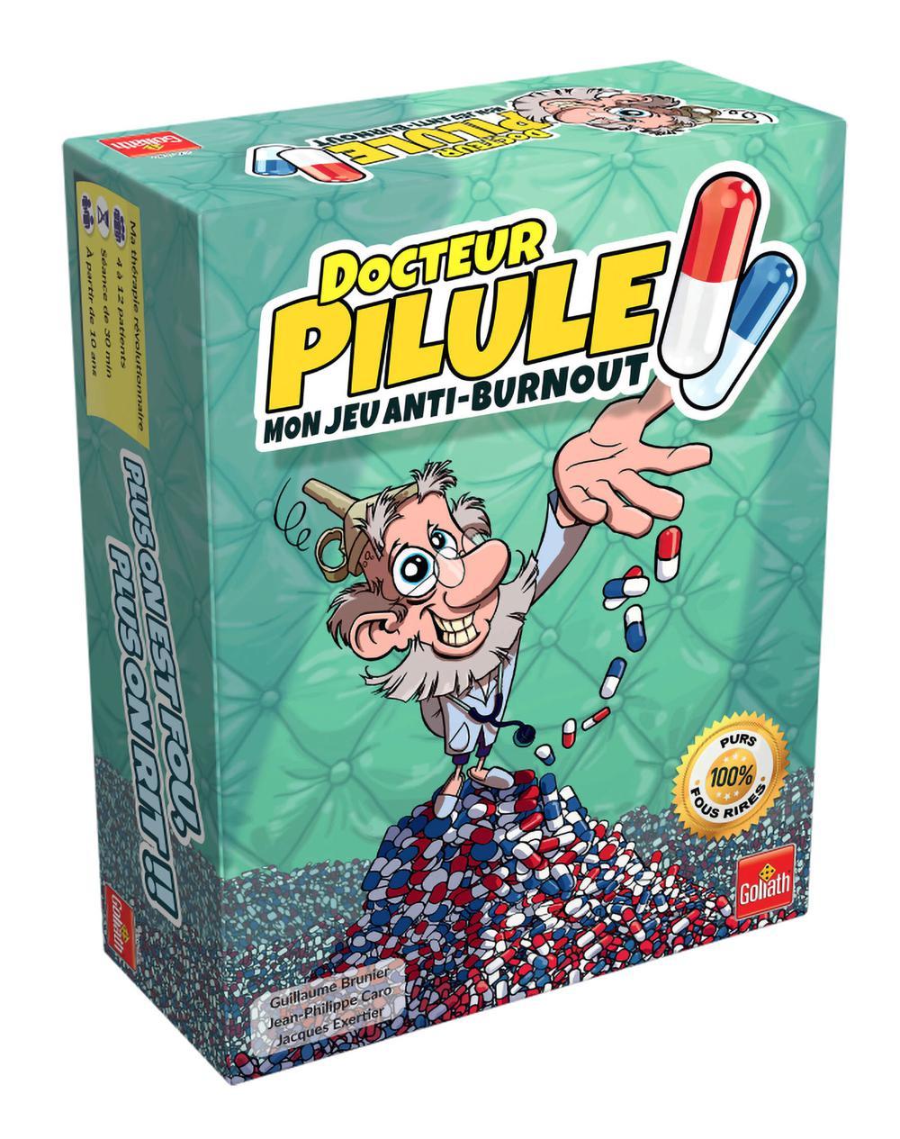 Jeu Docteur Pilule Version française