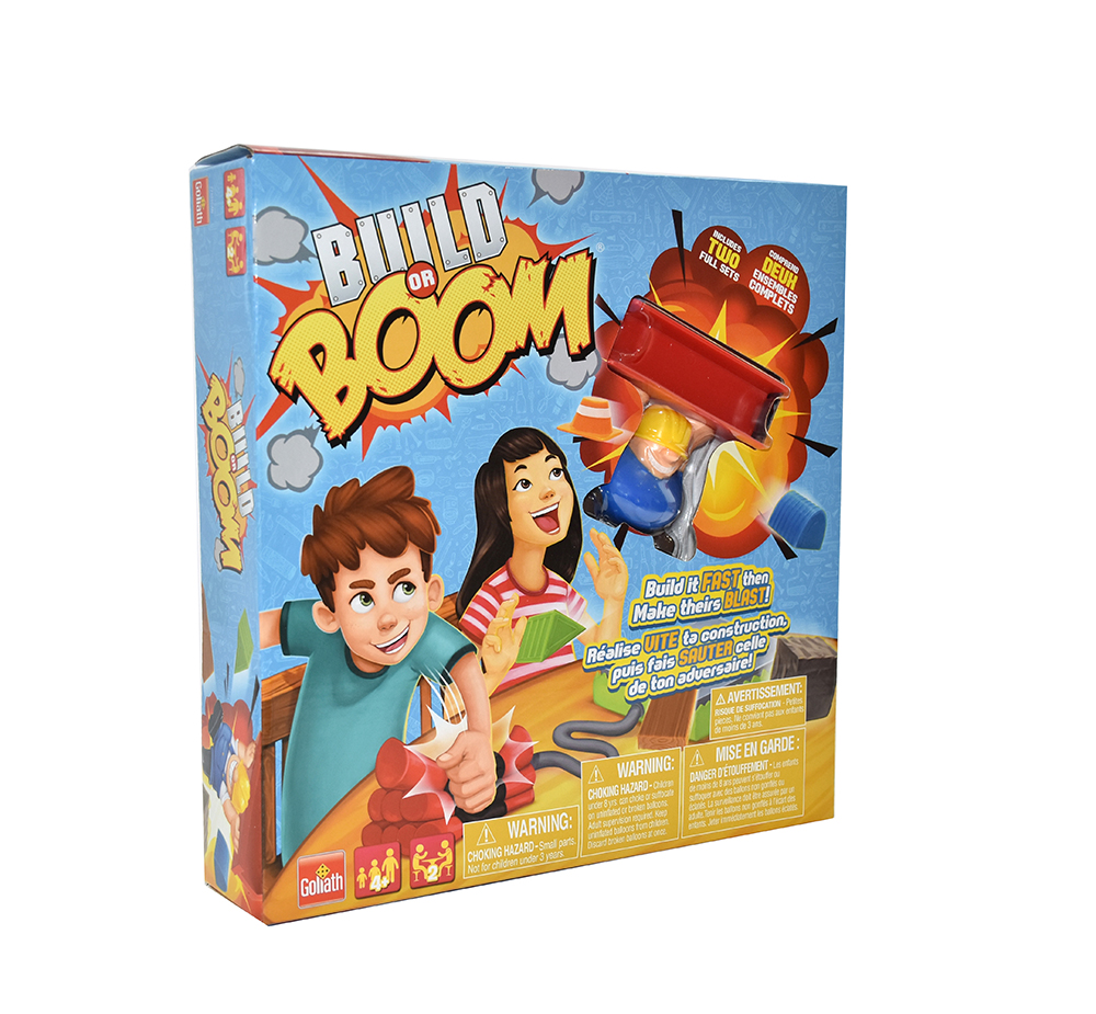 Jeu Build or Boom Bilingue