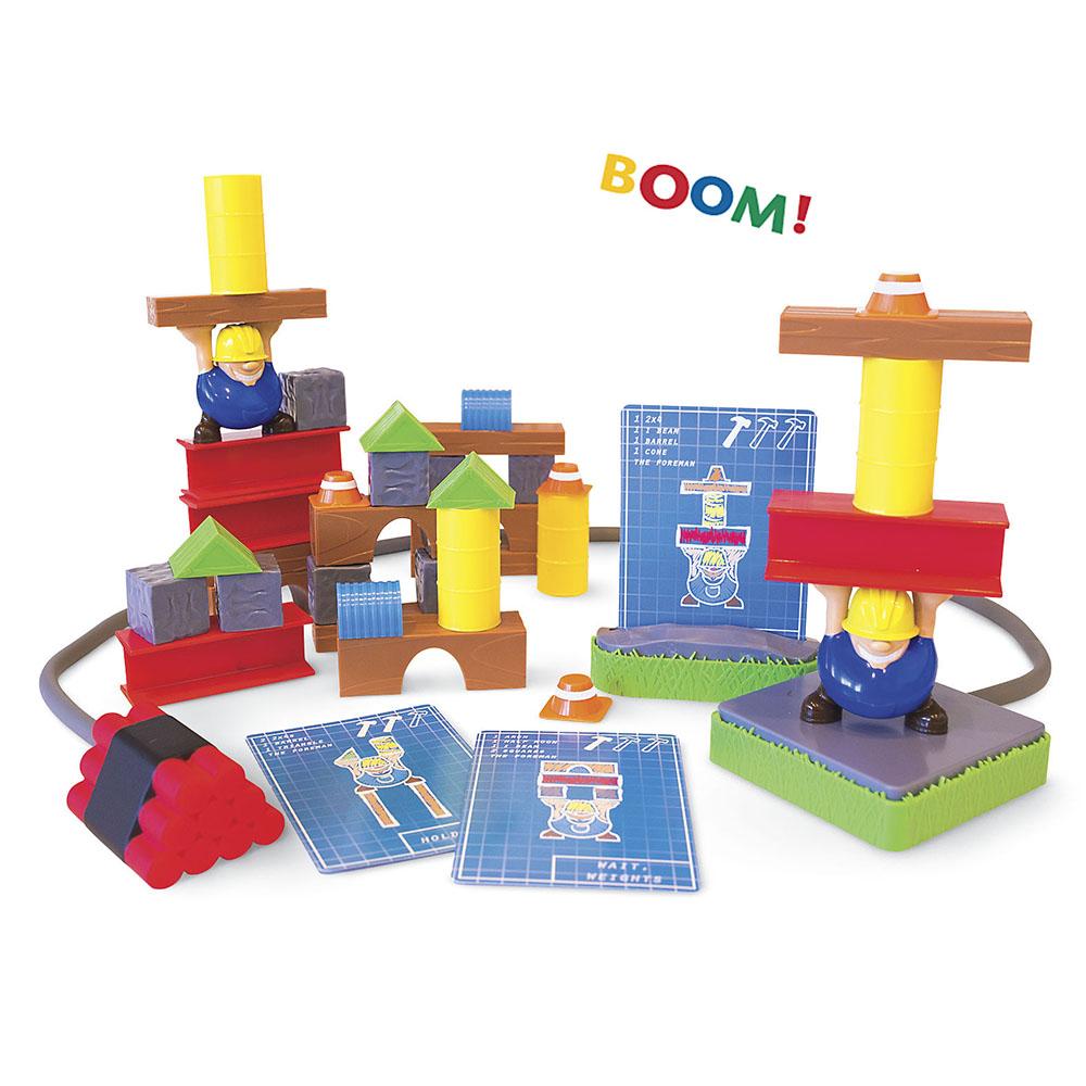 Jeu Build or Boom Bilingue
