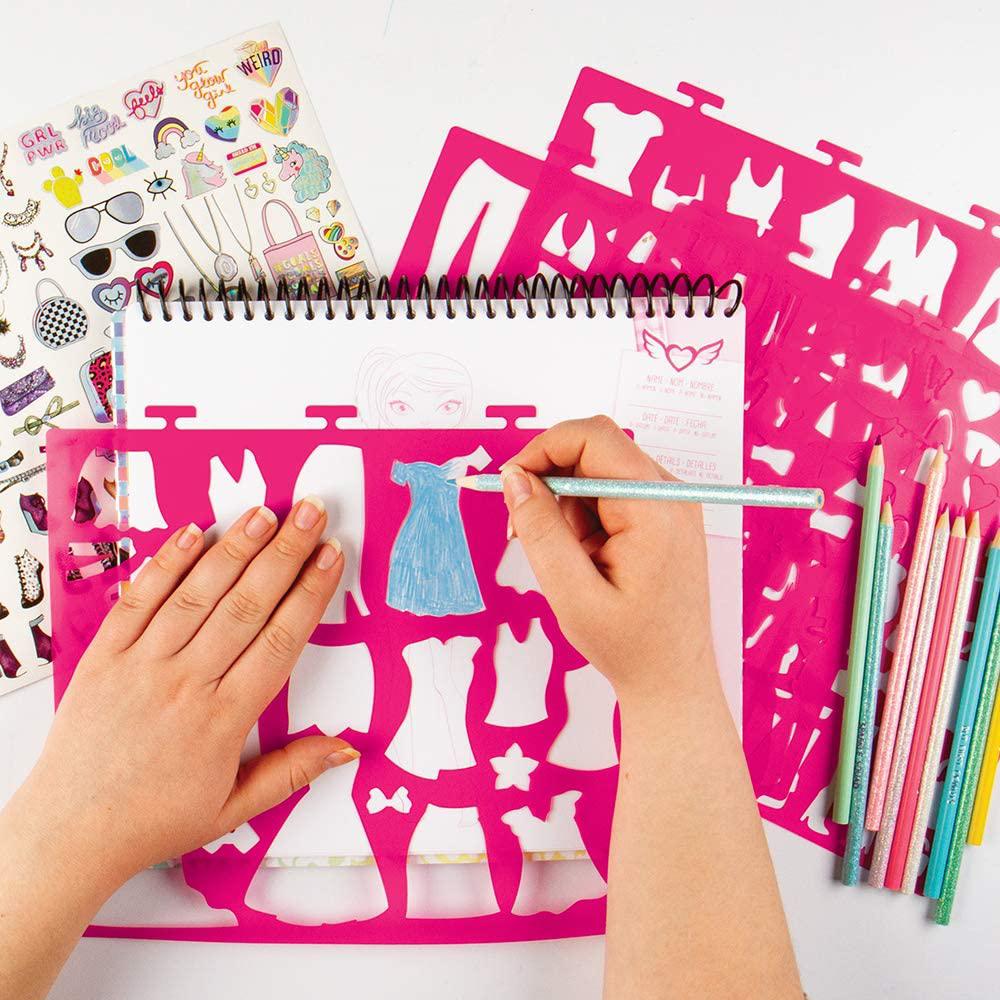 Fashion Angels- Portfolio création de dessins mode
