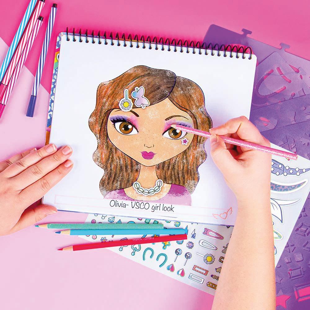 Fashion Angels- Portfolio Styliste de maquillage