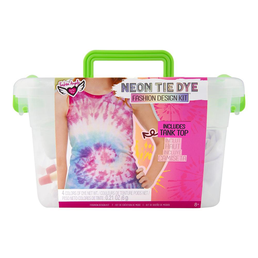 Fashion Angels- Neon Tie Dye- Ensemble Création camisole mode