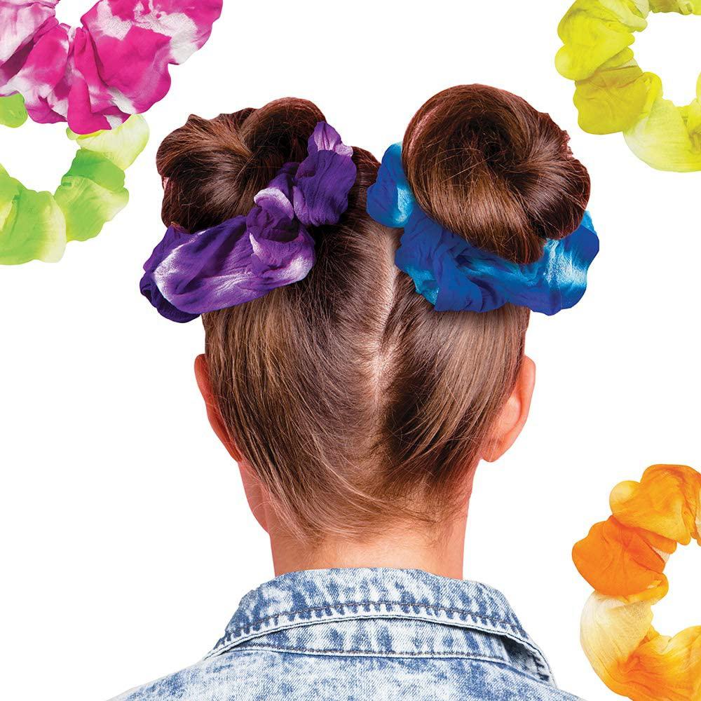 Fashion Angels - Neon Tie Dye- Ensemble Création chouchous à cheveux