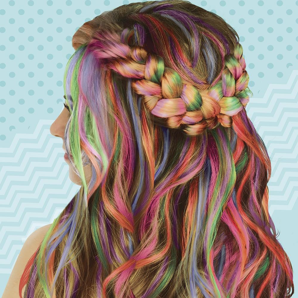 Fashion Angels- Hair Chox- Ensemble de création de coiffure - Paquet de 5
