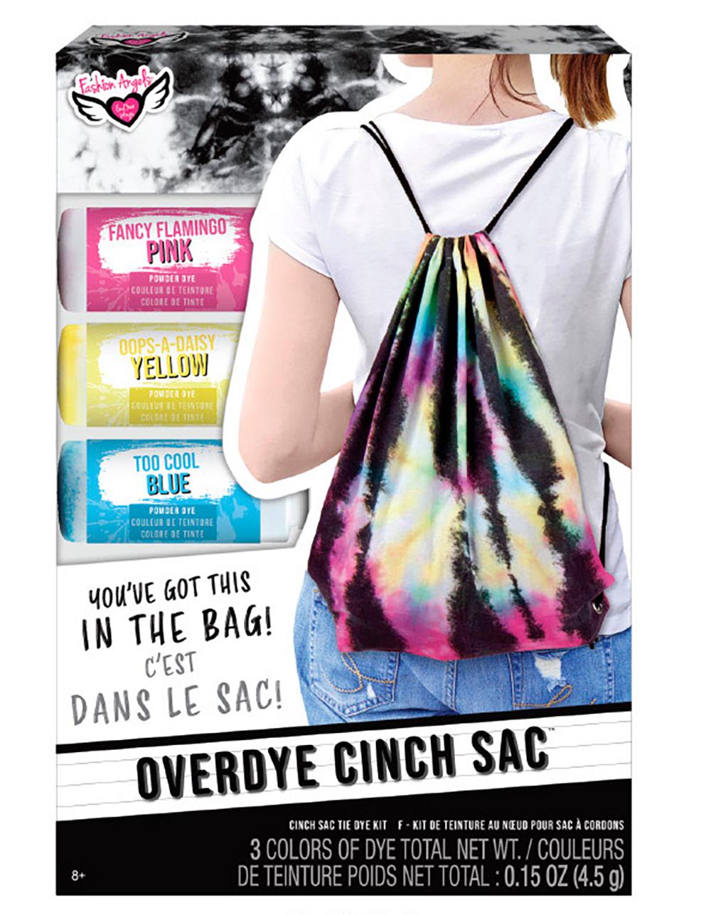 Fashion Angels - Sac à cordons Tie Dye