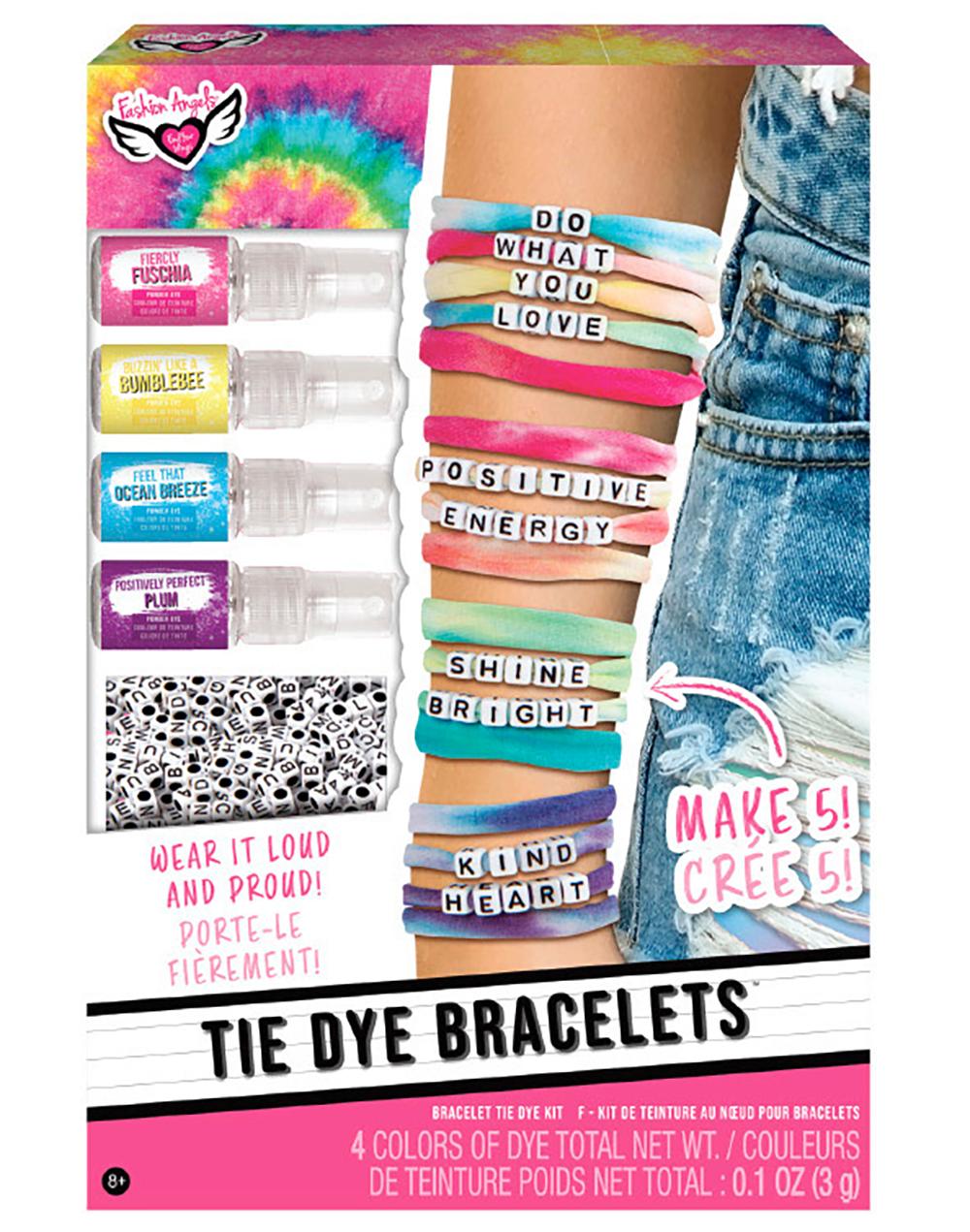 Fashion Angels - Ensemble de bracelets Tie Dye