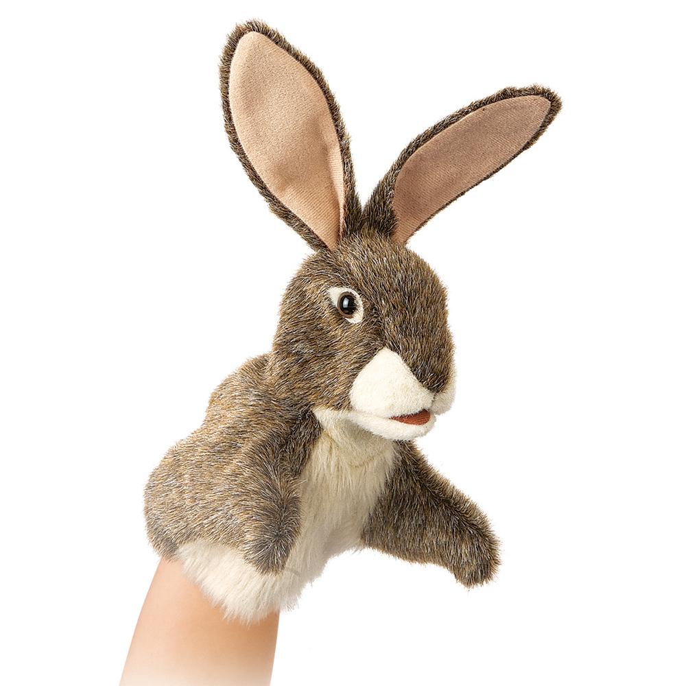 Marionnette - Petit Lièvre 25 cm