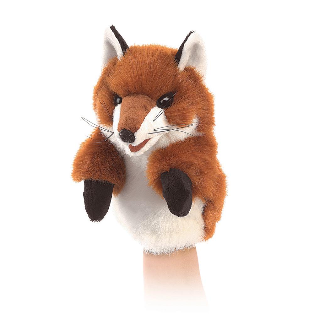 Marionnette petit renard 23 cm