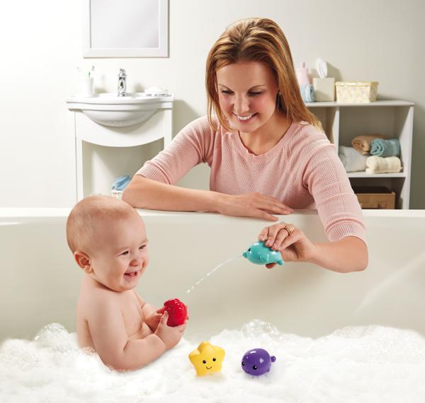 Fisher Price Amis de bain assortis