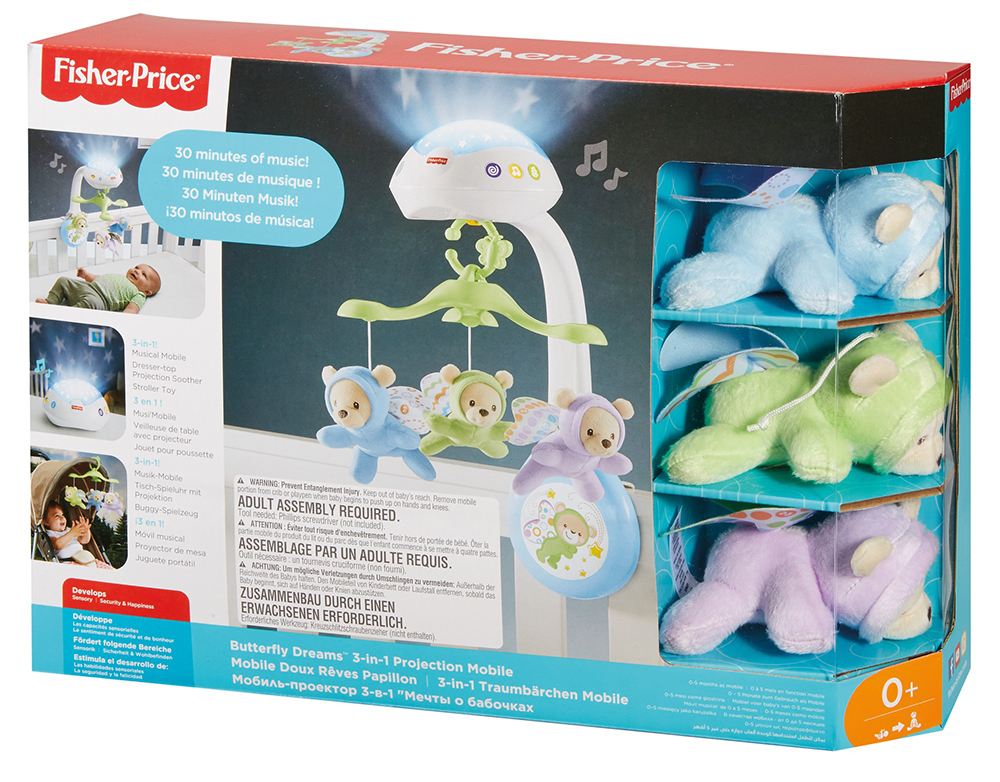 Fisher Price - Mobile projection rêves