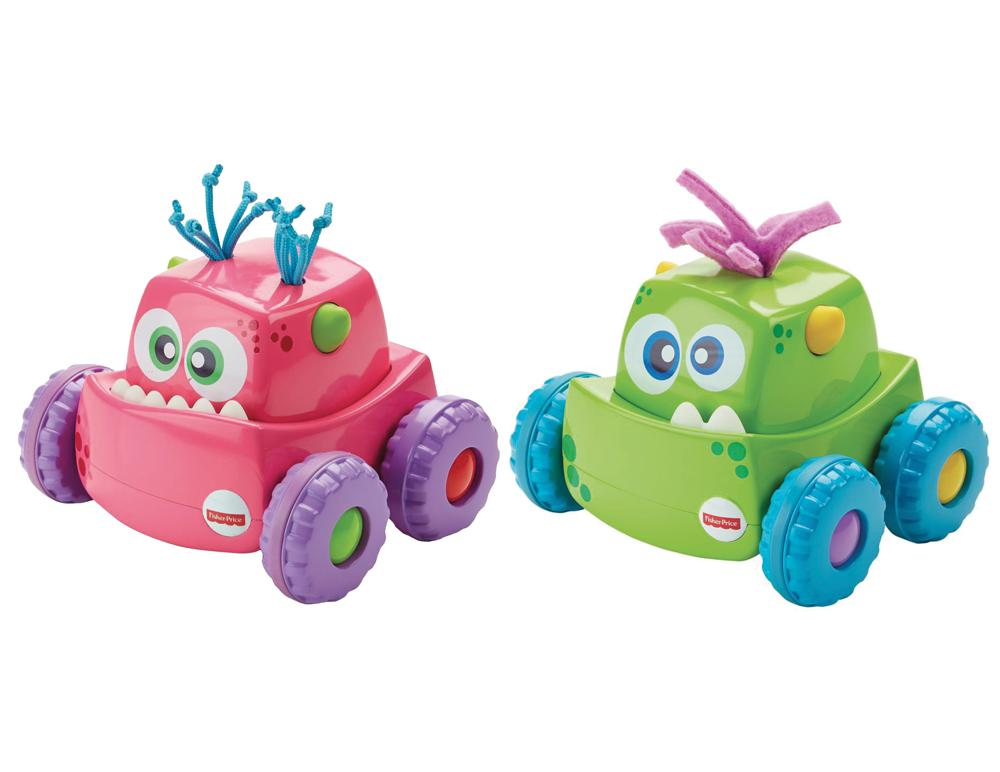 Fisher Price - Camion monstre 2 couleurs assorties