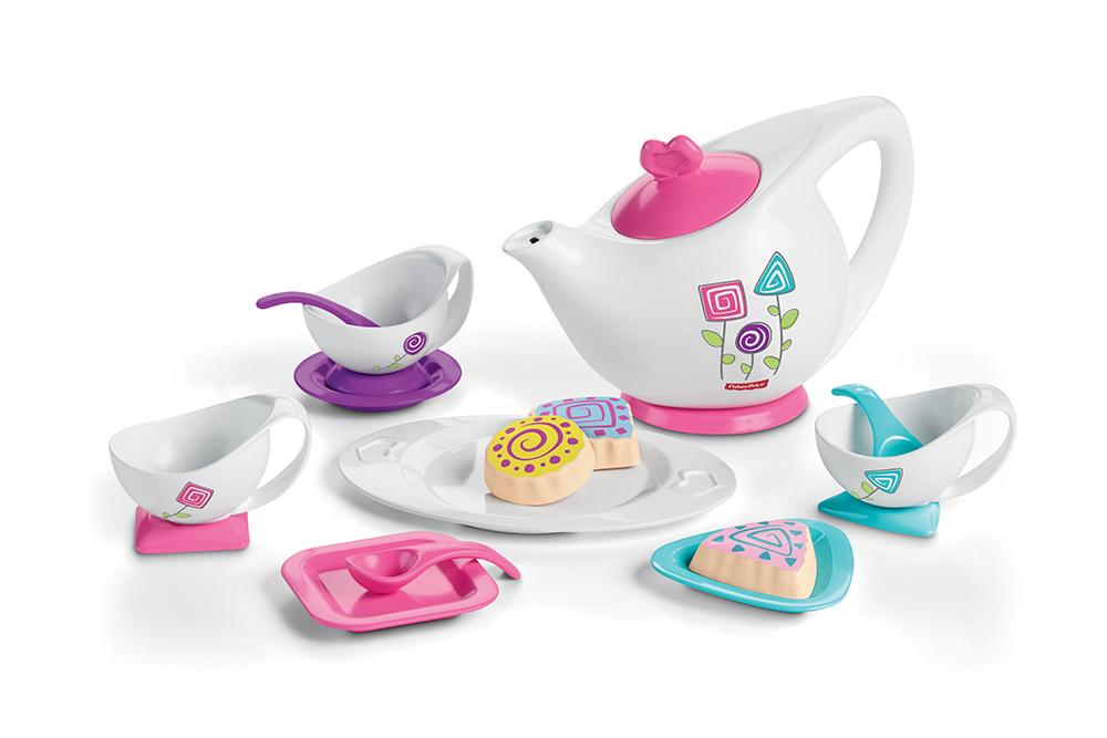 Service à thé Jolies couleurs