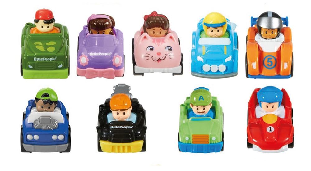 Little People - Wheelies assortis