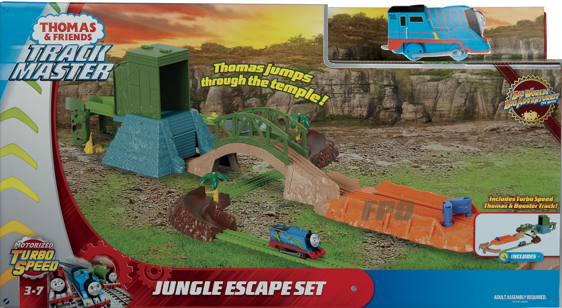 Thomas le Train - Ensemble de saut de la Jungle