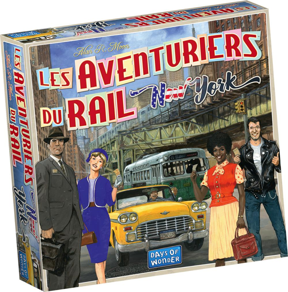 Jeu Les Aventuriers du rail Express - New York