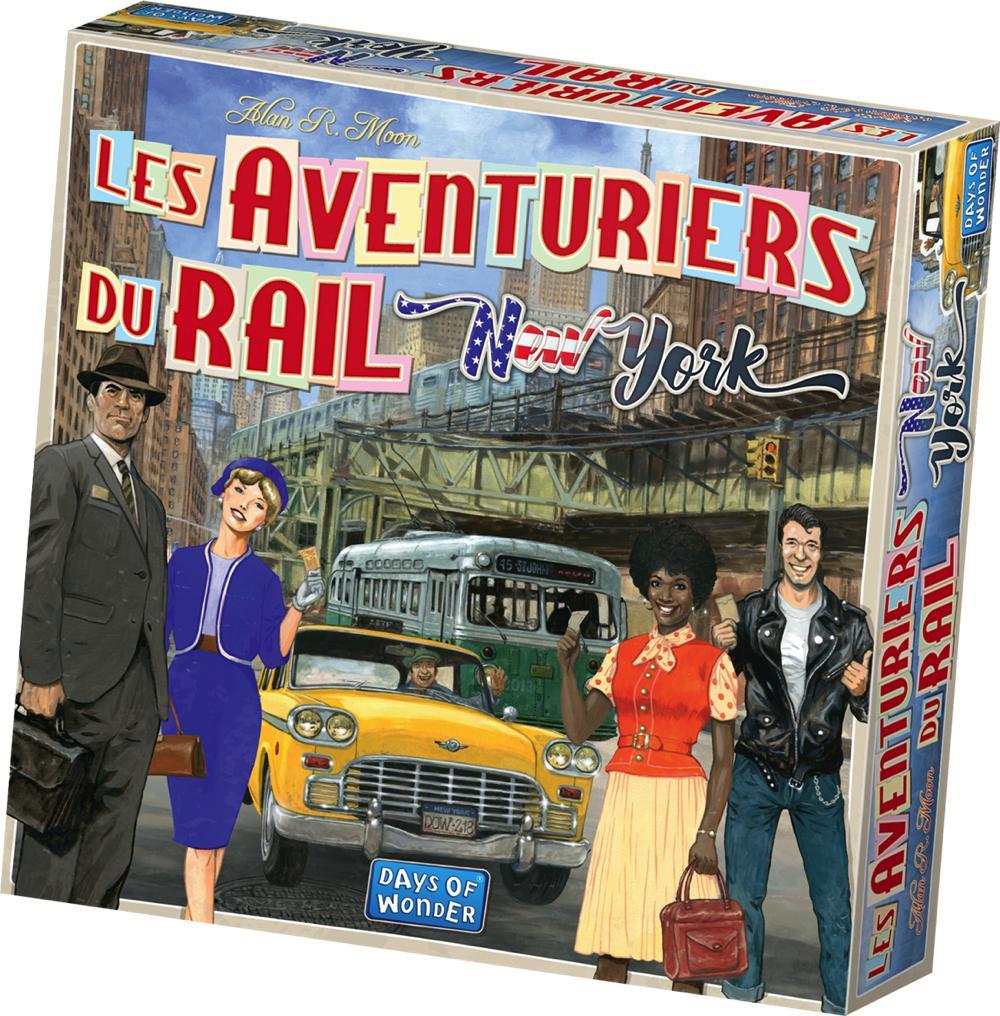 Jeu Les Aventuriers du rail express : New-York