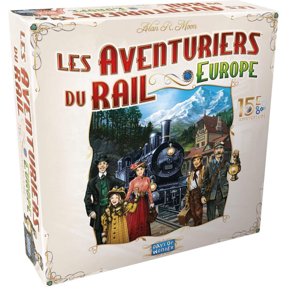 Jeu Aventuriers du rail - Europe 15e anniversaire