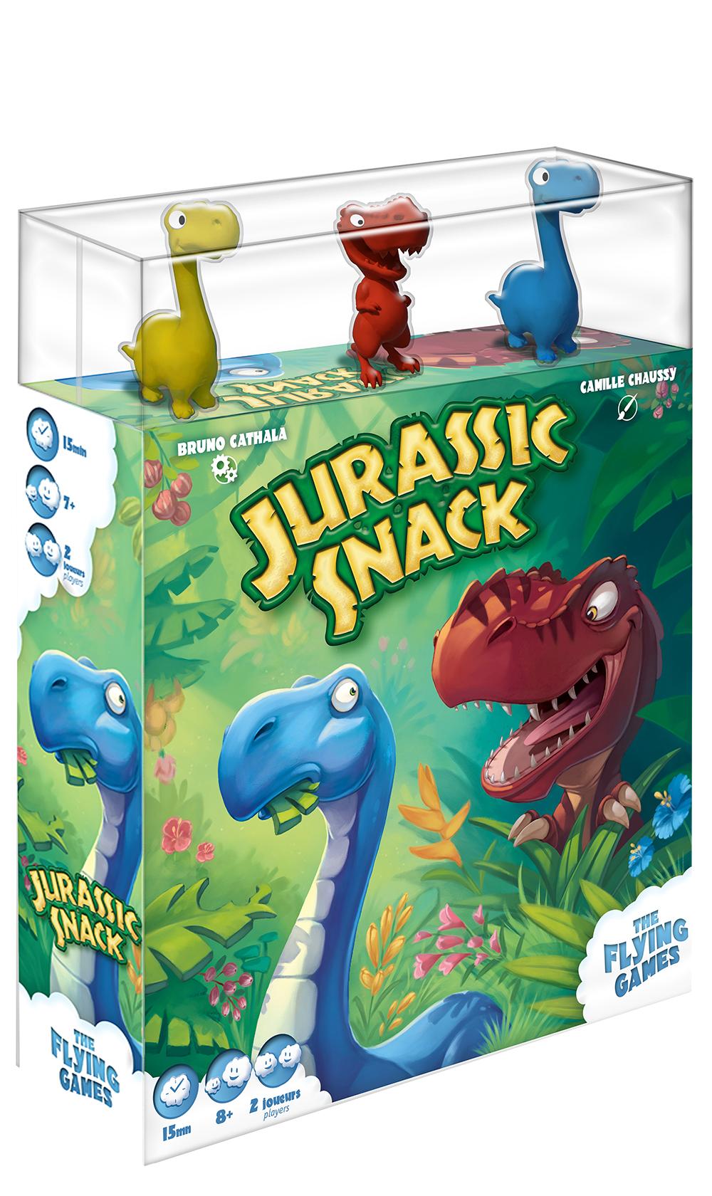 Jeu Jurassic Snack