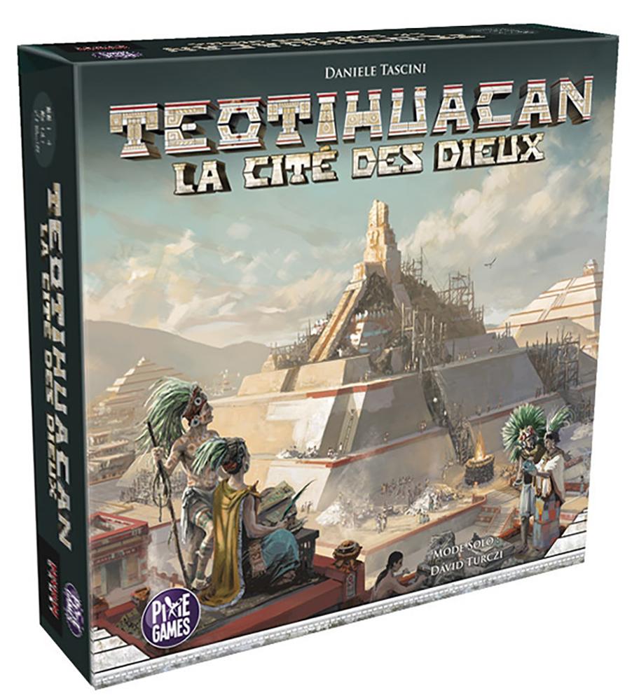 Jeu Teotihuacan - La Cité des Dieux