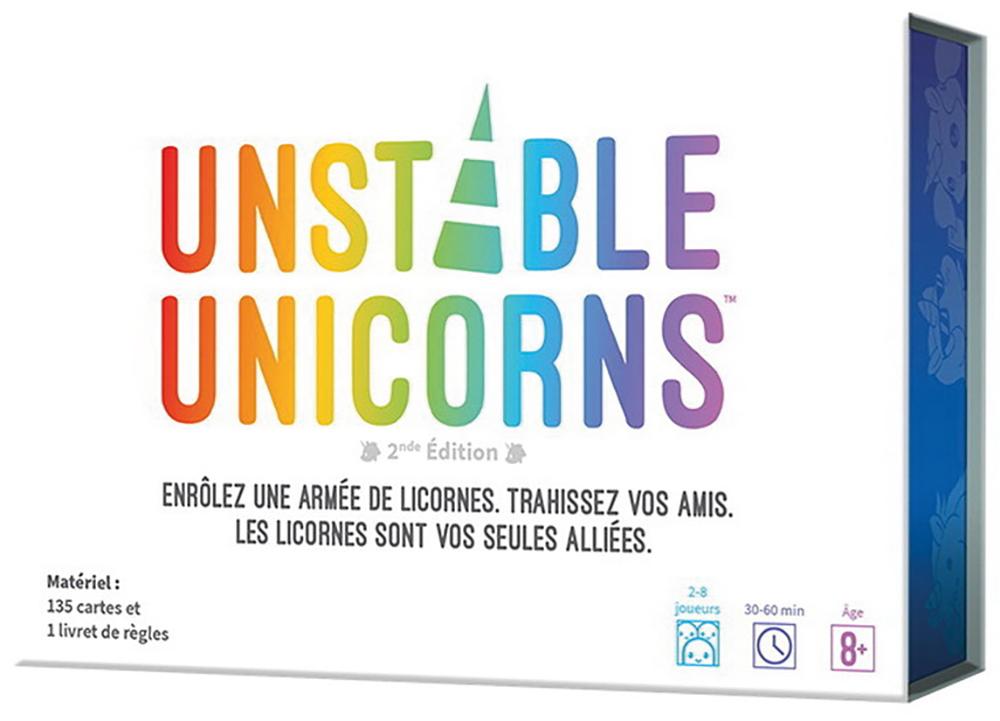 Jeu Unstable Unicorns Version française