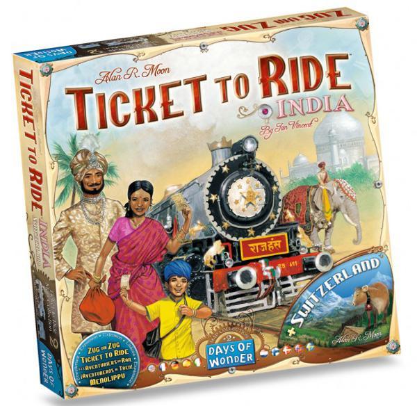 Jeu Les Aventuriers du rail Extension - Inde