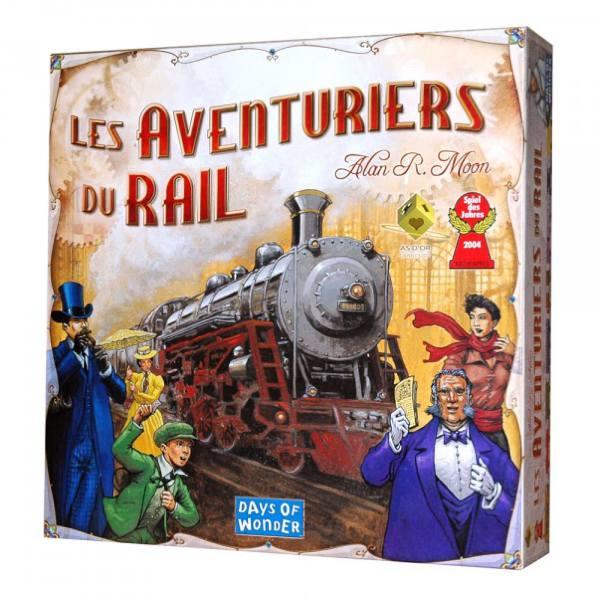 Jeu Les Aventuriers du rail - Amérique