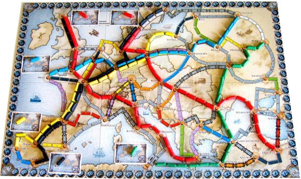 Jeu Les Aventuriers du rail - Europe