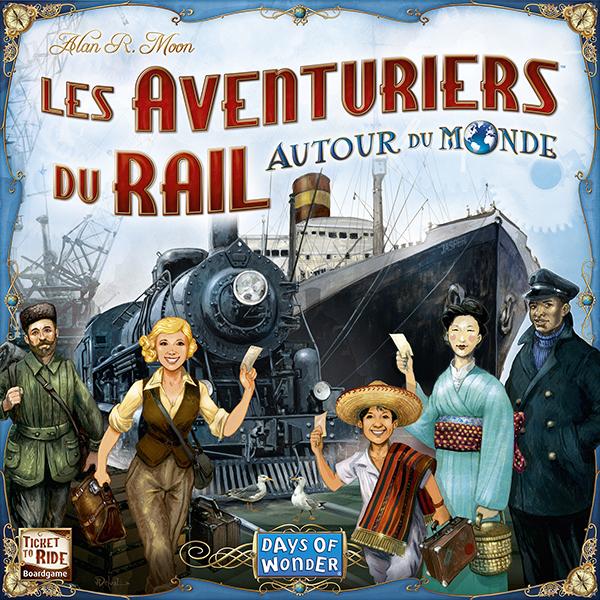 Jeu Les Aventuriers du rail - Autour du monde