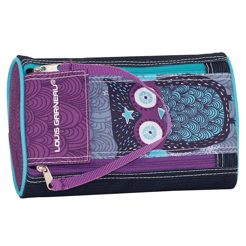 Hibou - Étui à crayons 2 zippers