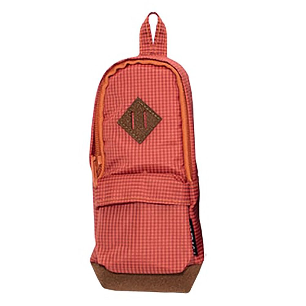 Étui à crayon de style sac à dos, orange