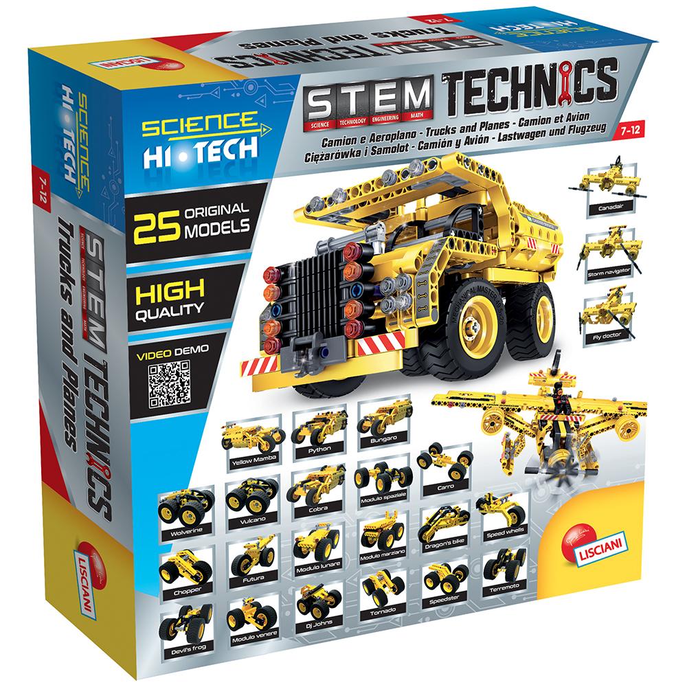 Science Hi-Tech - Avions et Camions 25-en-1 Technics