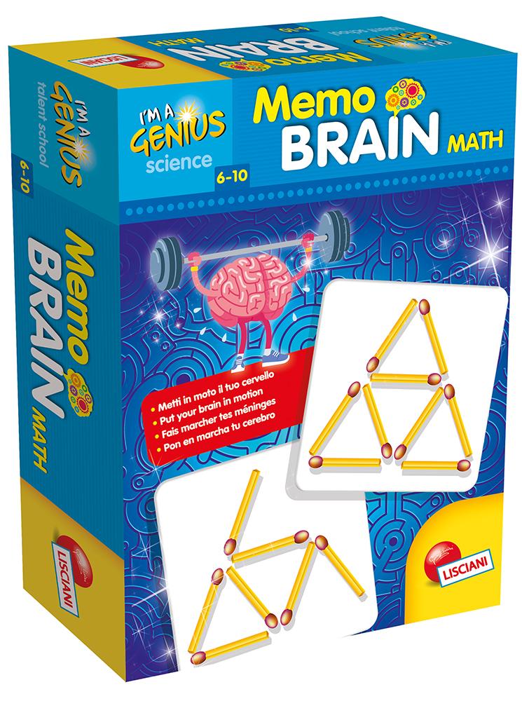 I'm a genius Memo Brain Math