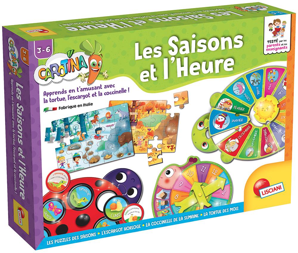 Carotina - Les saisons et l'heure Version française