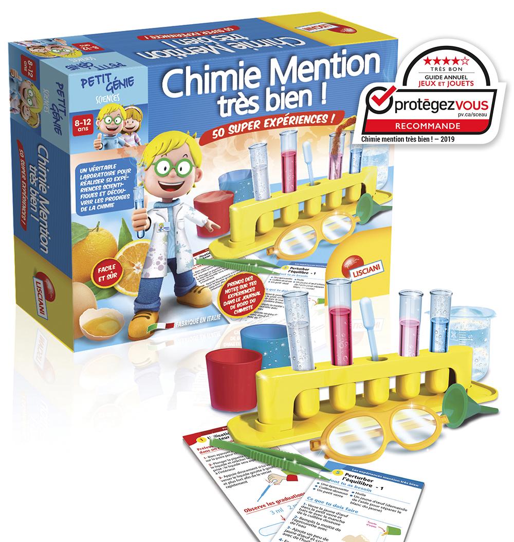 I'm a genius  Chimie mention très bien 50 expériences