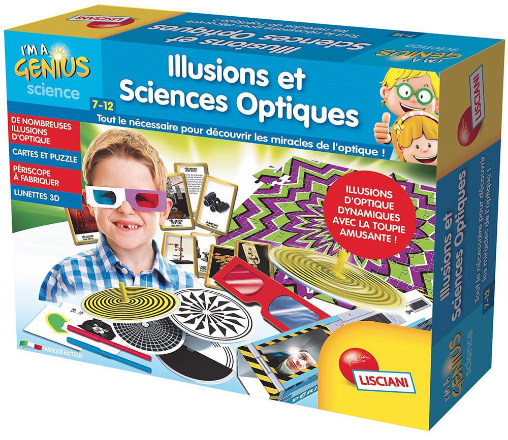 I'm a Genius - Illusions et sciences optiques Version française