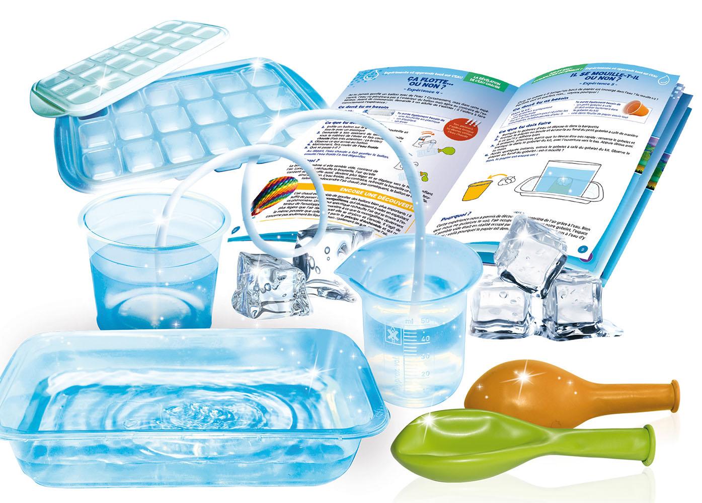I'm a genius 20 expériences glace et eau Version française