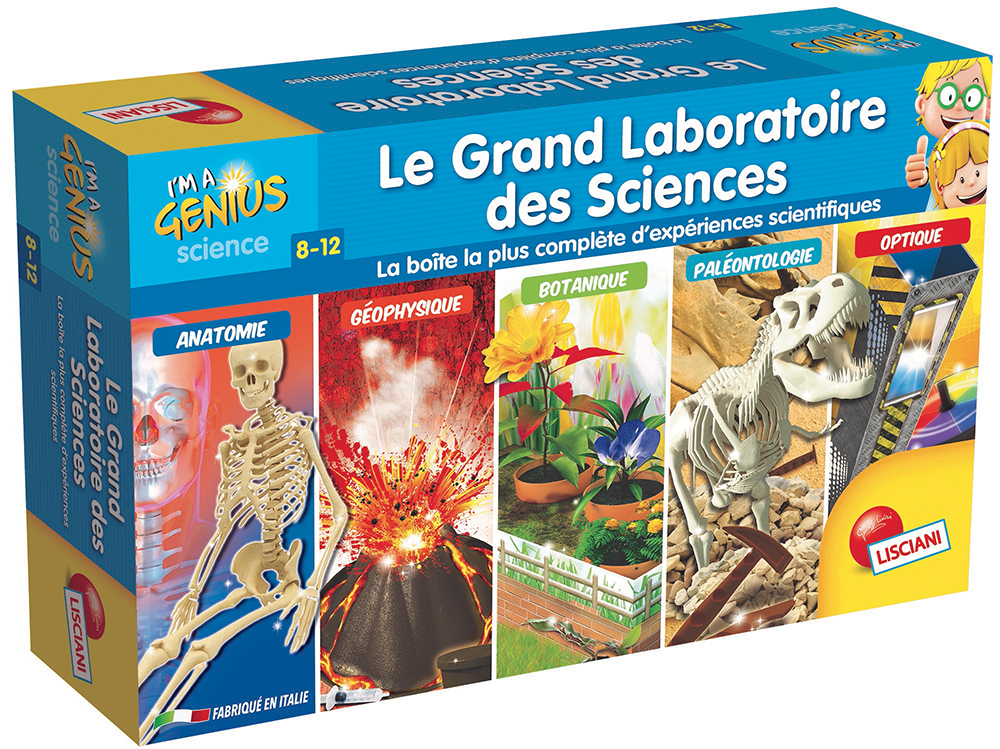 I'm a genius Grand laboratoire des sciences Version française