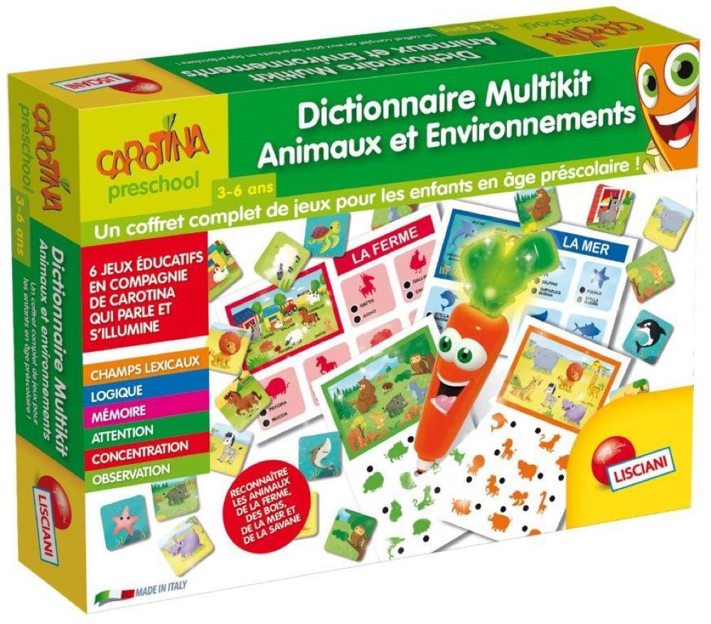 Carotina magique Dictionnaire Animaux & Environnements