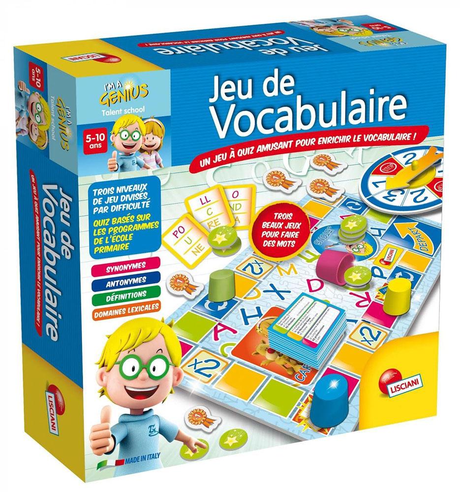 I'm a genius Jeu de vocabulaire Version française