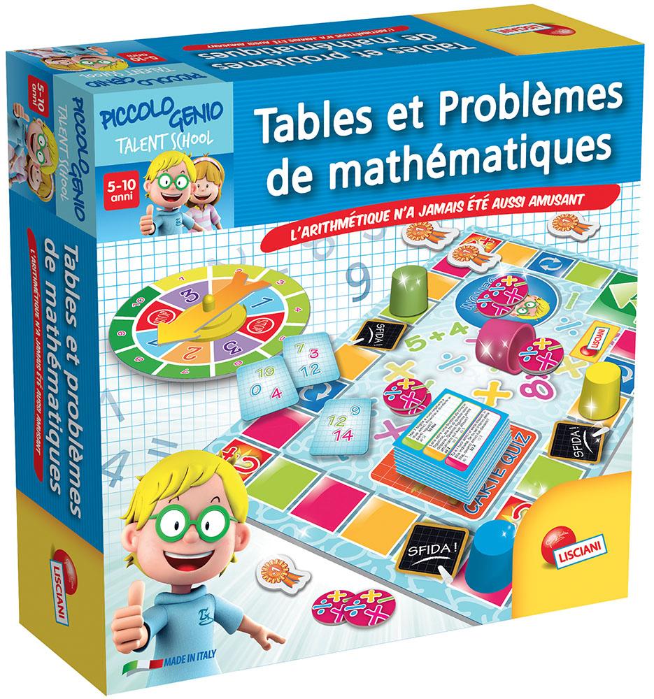I'm a genius Tables et problèmes de mathématiques Version française