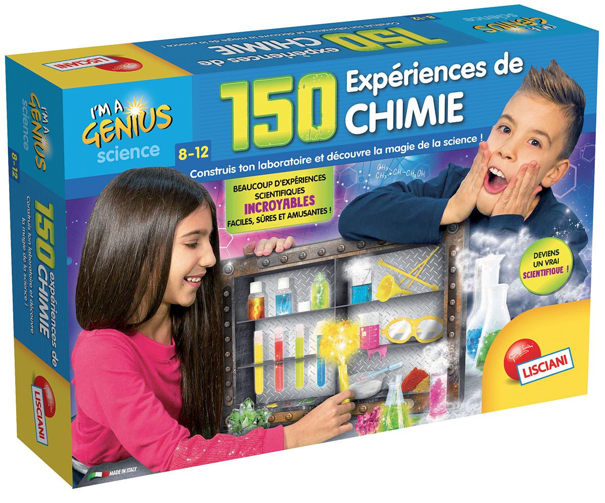 I'm a Genius - 150 expériences de chimie Version française