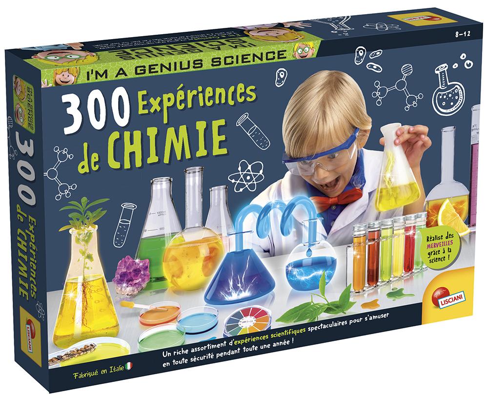 I'm a genius 300 expériences de chimie version française