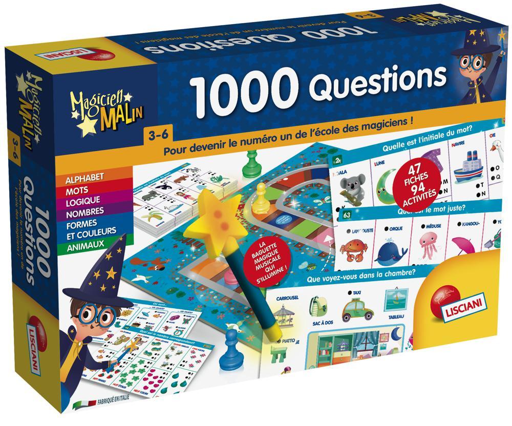 Magicien Malin 1000 questions Version français