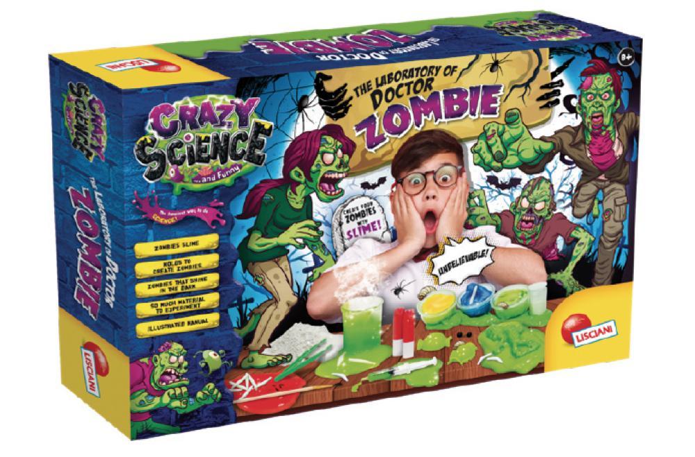 Crazy Science Le Laboratoire du docteur Zombie Version française