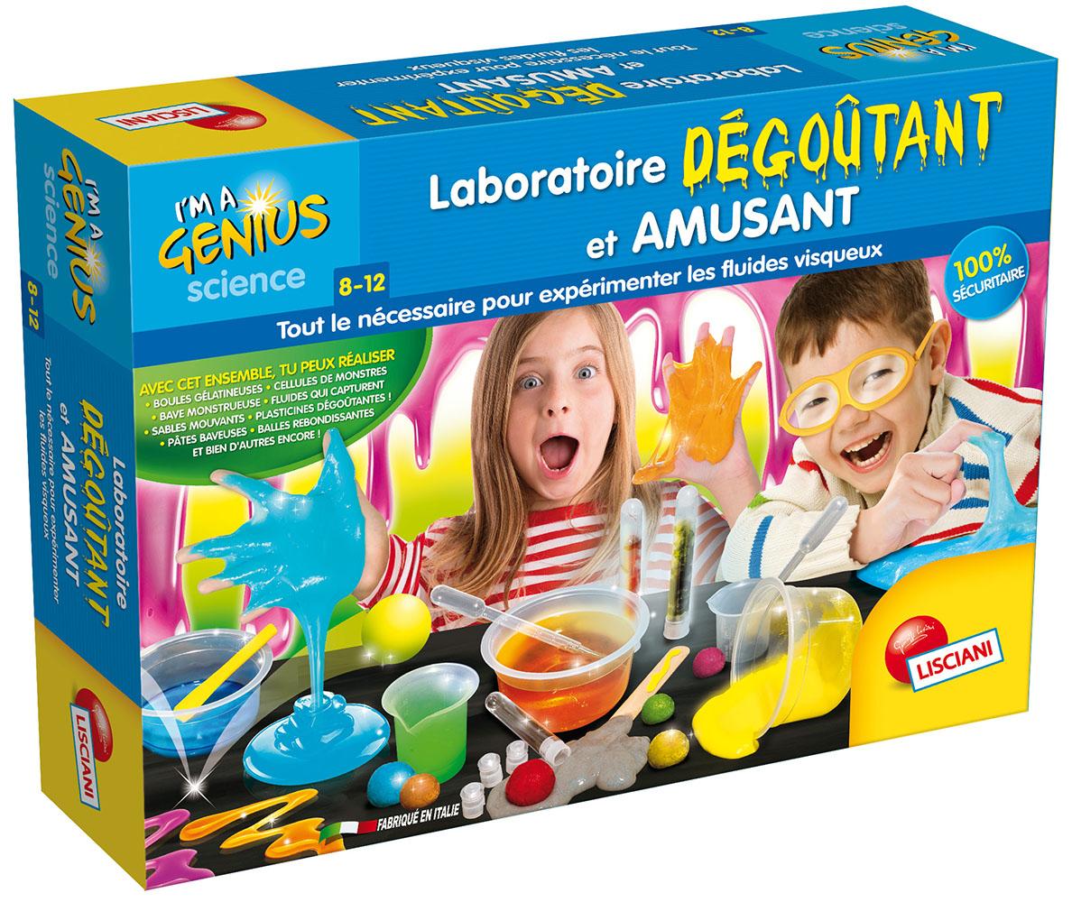 I'm a genius Laboratoire dégoutant et amusant Version française