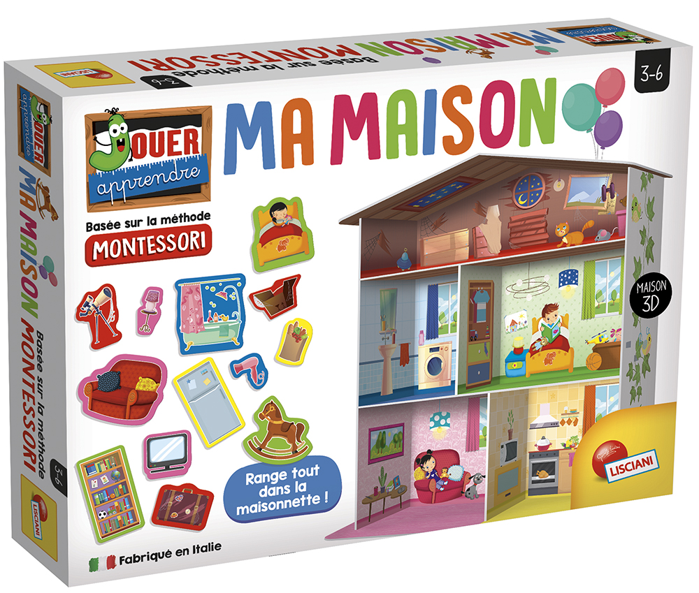 Montessori - Ma Maison Version française