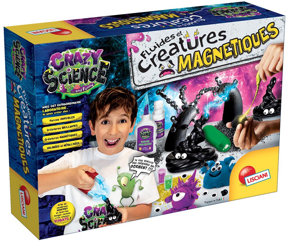 Crazy Science Fluides et créatures magnétiques Version française