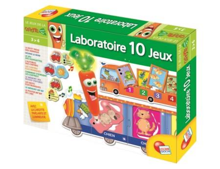 Carotina Magique Laboratoire éducatif 10 jeux
