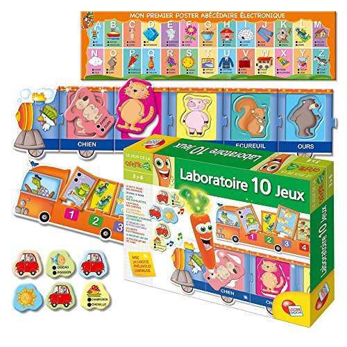 Carotina Magique Laboratoire éducatif 10 jeux Version française